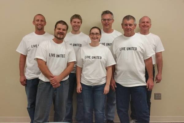 Frontline's team participating in the United Day of Caring 2.