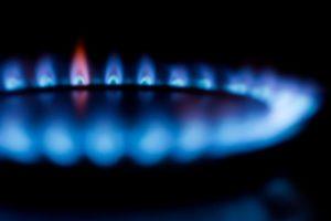 A natural gas burner