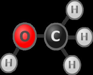 A methanol molecule
