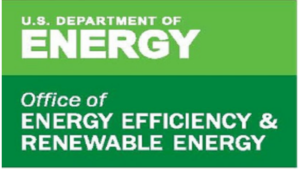 A logo for the US Department of Energy's Office of Energy Efficiency and Renewable Energy